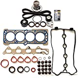 SCITOO Timing Belt Water Pump Kit Head Gasket Sets Fits 06-08 Chevrolet Aveo Aveo5 1.6L 1598CC L4 DOHC 16v VIN 6