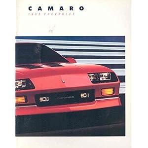 1988 Chevrolet Camaro IROC Z Brochure