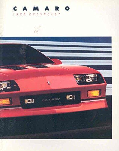 1988 Chevrolet Camaro IROC-Z Brochure