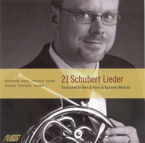 (21 Schubert Lieder transcribed for French Horn)