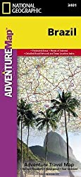 Brazil (National Geographic Adventure Map) by National Geographic Maps