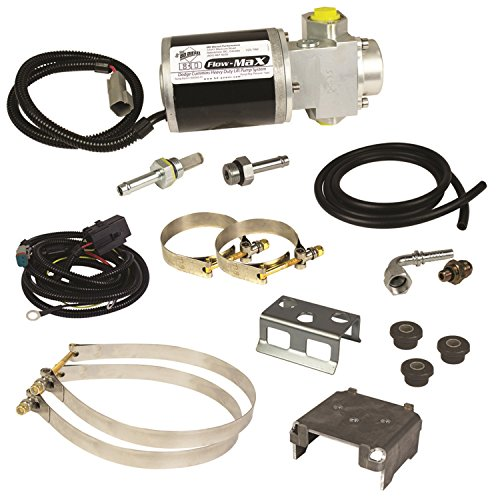 BD Diesel 1050320D Flow-MaX Fuel Lift Pump Incl. Lift Pump Only/Mounting Brackets/Wiring Harness/All Necessary Mounting Hardware Flow-MaX Fuel Lift Pump