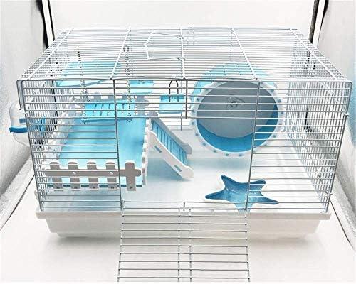 CSWO Hamster Cage Foundation Cage Hamster Erizo Rama de Flores ...