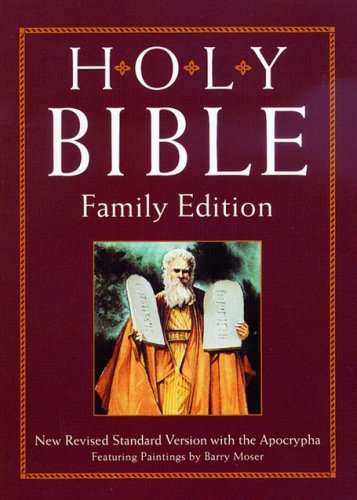 The Holy Bible (NRSV with Apocrypha, Family Edition)