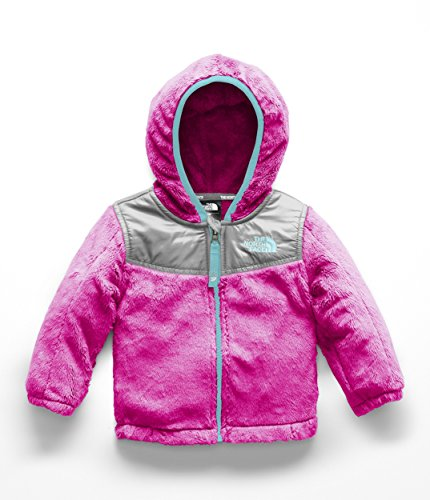 Face Hooded Fleece - The North Face Infant OSO Hoodie - Azalea Pink - 24M