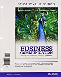 Business Communication : Polishing Your Professional Presence, Student Value Edition Plus NEW MyBCommLab with Pearson EText -- Access Card Package, Shwom, Barbara G. and Snyder, Lisa G., 0133484017