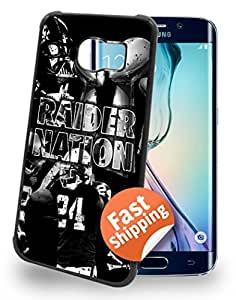 Oakland Raiders Cell Phone Hard Case for Samsung Galaxy S7