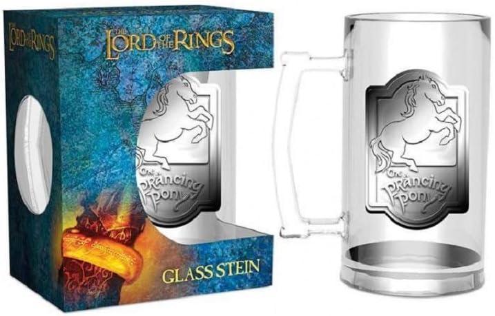 GYE GLF0020, Jarra de cerveza Prancing Pony El Señor de los Anillos, 0,5 litros