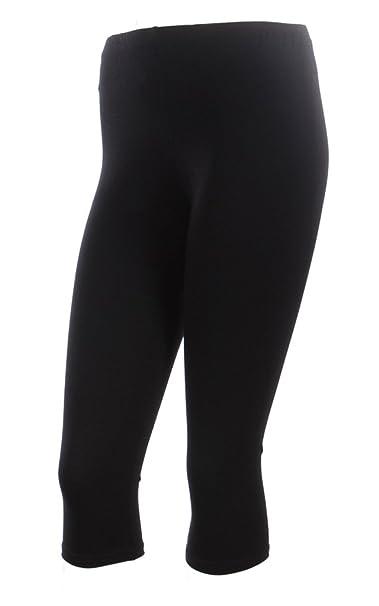 03ee1c8a193 Ola Mari Capri Leggings Pants Capris for Women   Plus Size Plain ...