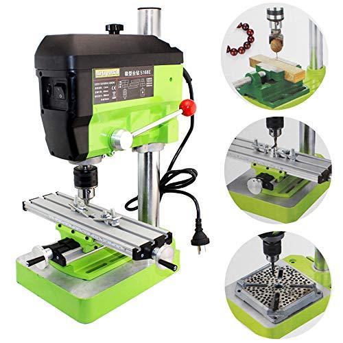 BAOSHISHAN Mini Electric Drilling Machine Variable Speed Micro Drill Press Grinder Pearl Drilling DIY Jewelry Drill Machine ()