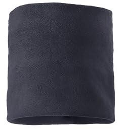 Screamer Fleece Neck Gaiter, Charcoal, One Size