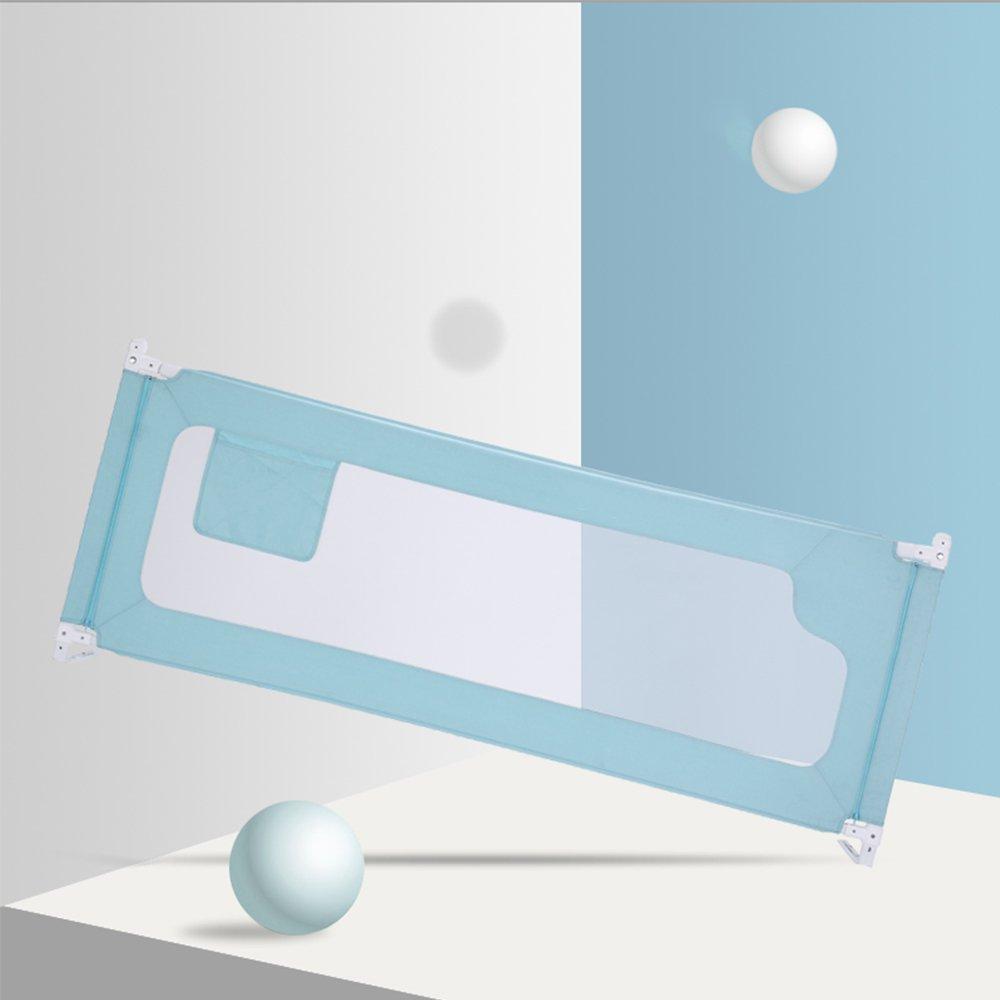 ベッドフェンス ベッドレール 掛け布団のずれ防止 ベビーベッドガード ポータブル オシャレ 丈夫 一枚  カラー2 B07D5QW5S8