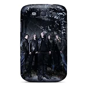Ultra Slim Fit Hard BYBUY Case Cover Specially Made For Galaxy S3- Moonsorrow Band