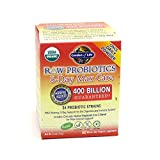 Garden of Life Organic Probiotic Supplement - Raw Probiotics 5 Day Max Care, 75g Powder