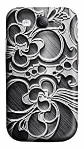 Metal Engraving Custom Samsung Galaxy I9300/Samsung Galaxy S3 Case Cover Polycarbonate 3D