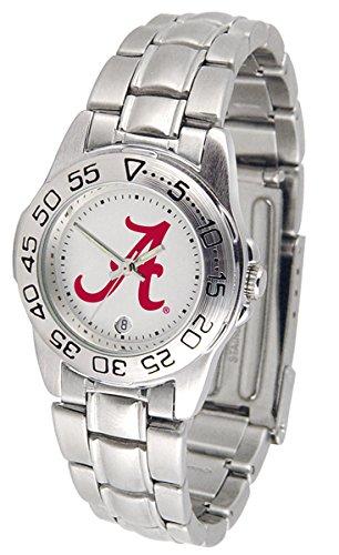 Alabama Crimson Tide Sport Steel Women's Watch (Alabama Crimson Tide Ladies Watch)