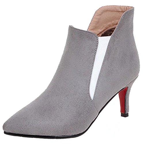 AIYOUMEI Classic Women's Grey Women's AIYOUMEI Boot d0wxPqgw