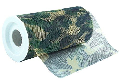 Celebrate It Camouflage Tulle Netting 6 Inch: Wide x 10 Yards Long]()