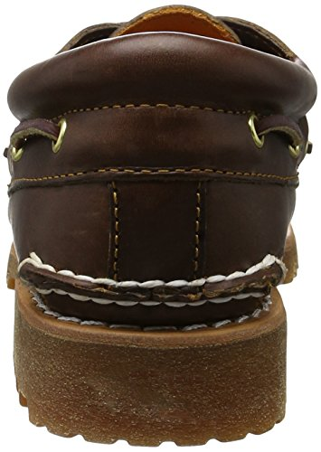 Timberland 3 Eye Classic Lug, Mocasines para Hombre Beige Camel