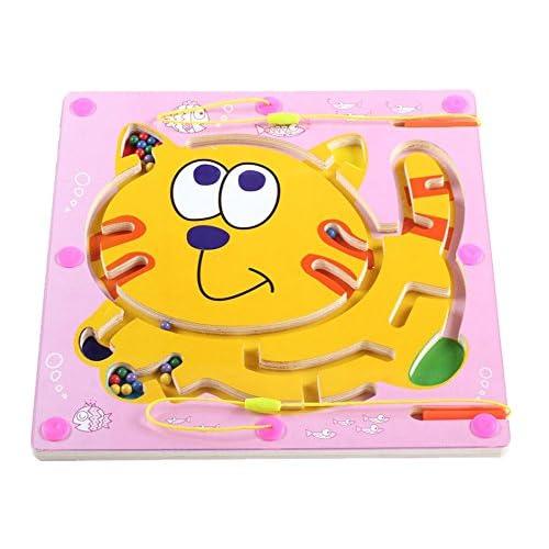 hot sale 2017 Doble cara de madera de juguete niños del rompecabezas del  laberinto educativo juego a1a189c7dbb
