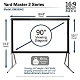 Outdoor Projector Screen with Stand 16:9, 8K 4K