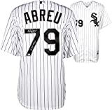 Jose Abreu Chicago White Sox Autographed Cool Base Authentic White Jersey with 14 ROY Inscription - Fanatics Authentic Certified