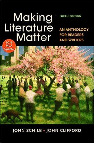 Making Literature Matter 6th Edition Pdf