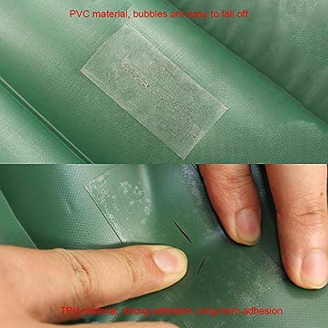 Parches de reparaci/ón de nylon TIAS,TPU impermeable transparente autoadhesivo nylon etiqueta engomada pa/ño,Parche de cinta de reparaci/ón de chaqueta de tienda al aire libre