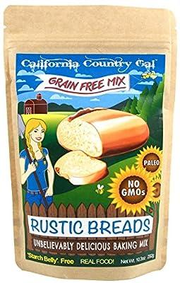 Rustic Bread Mix, Grain, Gluten and Starch Free! 10.3 oz