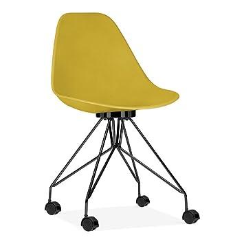Cult Bureau Moda Cd7Moutarde De En Design Chaise 8kXNOP0nw