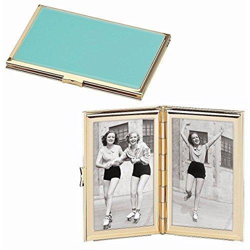 (Kate Spade New York Garden Drive Hinged Pocket Frame, Turquoise)
