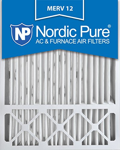 Price comparison product image Nordic Pure 20x25x5LXREDM12-1 Lennox X6673_X6675 Replacement MERV 12 Filter