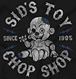 SIDS Toy Chop Shop Funny Cool Nerdy Geeky Tee T-Shirt