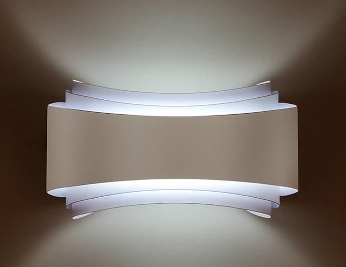 Eusolis  cm w led moderne lampade da parete per