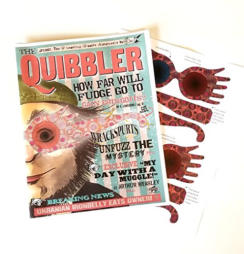 Wizarding Apothecary Harry Potter Quibbler Magazine with -