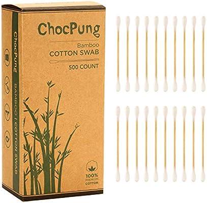 ChocPung - Hisopo de algodón biodegradable respetuoso con el medio ...