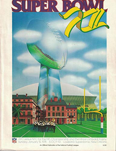 super bowl 12 program - 2