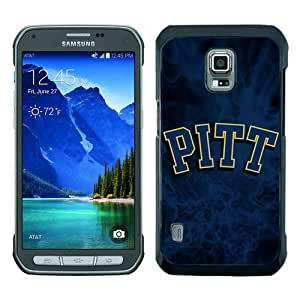 PAN Personalized Design NCAA Atlantic Coast Conference ACC Footballl Pittsburgh Panthers 3 Black Samsung Galaxy S5 Active Case