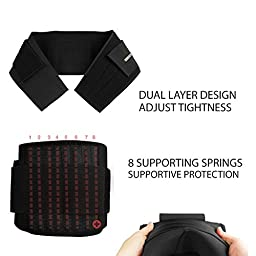 Bracoo Adjustable Back Brace,Breathable,Firm Support for Lower Back Strain,Small/Medium