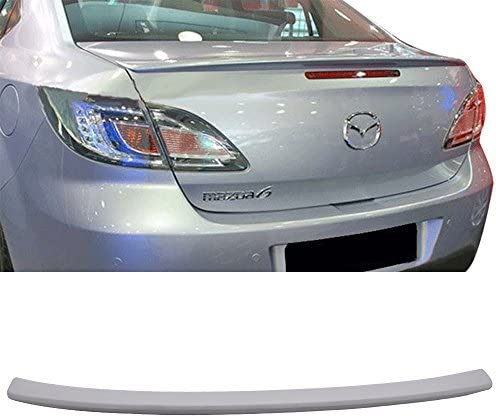 EURO Style Unpainted ABS Boot Lip Rear Spoiler Wing Add On Deck Lid By IKON MOTORSPORTS 2001 2002 2003 2004 2005 Trunk Spoiler Compatible With 2000-2006 BMW E53 X5