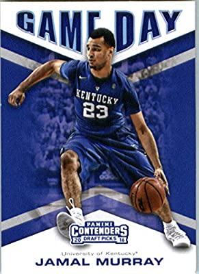 2016-17 Panini Contenders Draft Picks Game Day #3 Jamal Murray Kentucky Wildcats Basketball Card in Protective Screwdown Display Case