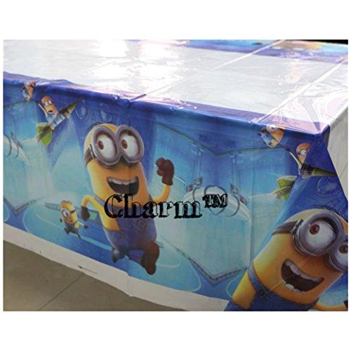 Minions Party Decorations (Despicable Me Minions Set of 2 Party Tablecloths Plastic 42