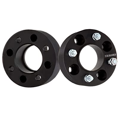 "ECCPP Replacement for Hubcentric Wheel Spacer, Wheel Spacers 4 Lug 2Pcs 2"" 50mm Thick 4x110mm 74mm for 2007-2010 Honda Rancher 420 Rincon 680 Foreman 500 4DW Can-Am DS450(Rear ONLY) with 10x1.25 Studs: Automotive"