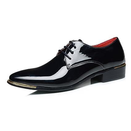 promo code 15605 a9d10 Apragaz-Scarpe da uomo Oxford Scarpe a Punta Bassa a Punta ...