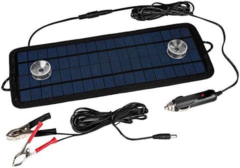 Senweit 4.5 W 12 V Solar cargador solar batería panel solar ...