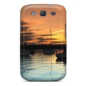 For Galaxy S3 Fashion Design Portsmouth Sunset Case-gLf9020siUv