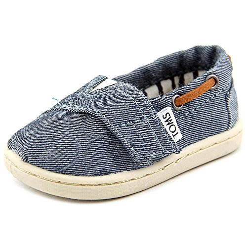 UPC 886468221627, Chambray Tiny TOMS Classics 013131D13 - 4 M US Toddler Color: Chambray