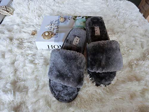 Soffice Unicorn Primavera Caldo Casa Scarpe Cotone Multi Divertente Pantofole Grigio Stivali Peluche color Interni Donna Uomo 0nxFq1SOx