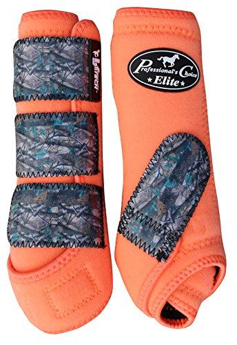 Professional's Choice Vtech Elite Vpack Medium Orange/Camo (Choice Sports Medicine)
