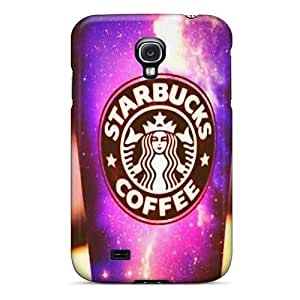 Ultra Slim Fit Hard GAwilliam Case Cover Specially Made For Galaxy S4- Starbucks Coffee